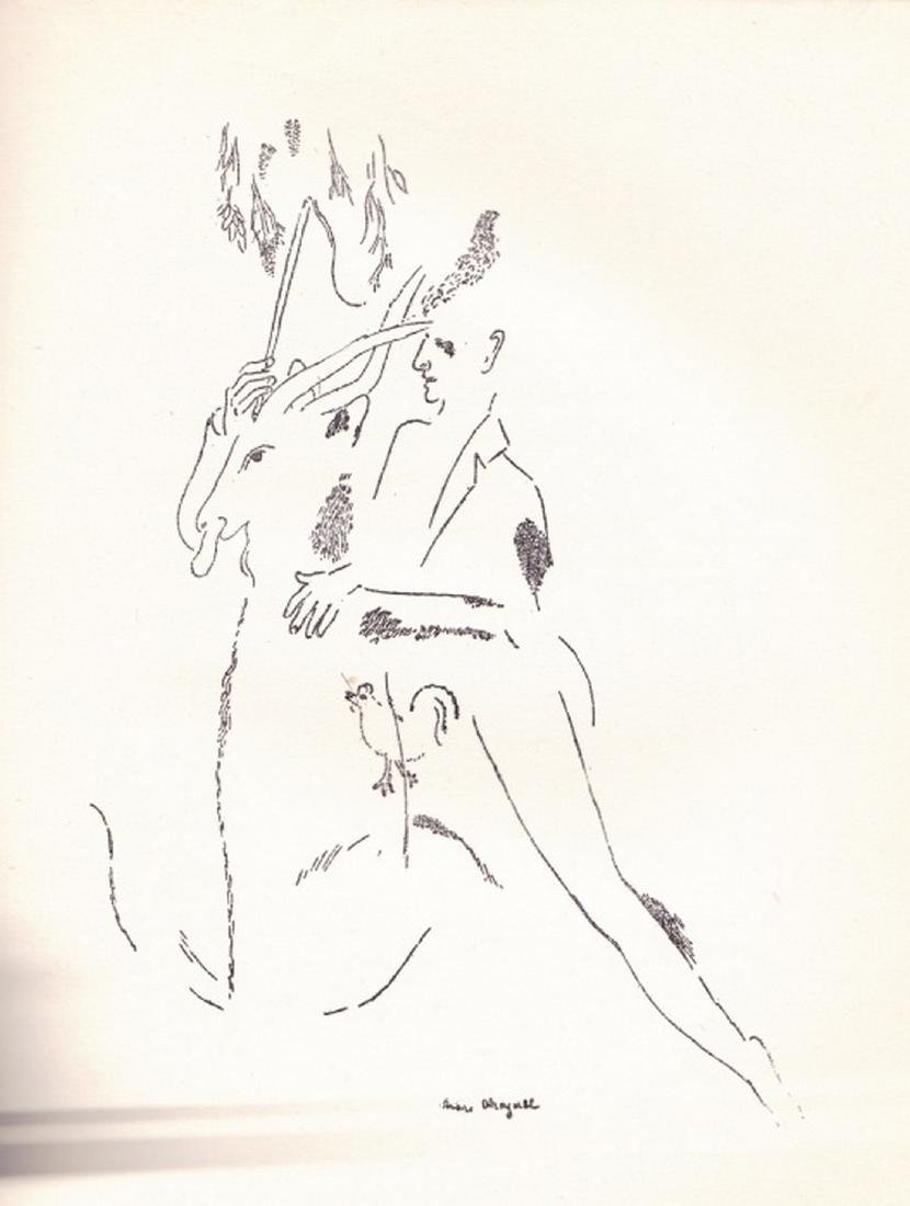 (2 Vols.) Love Poems and Jean Sans Terre. (Chagall. - 8