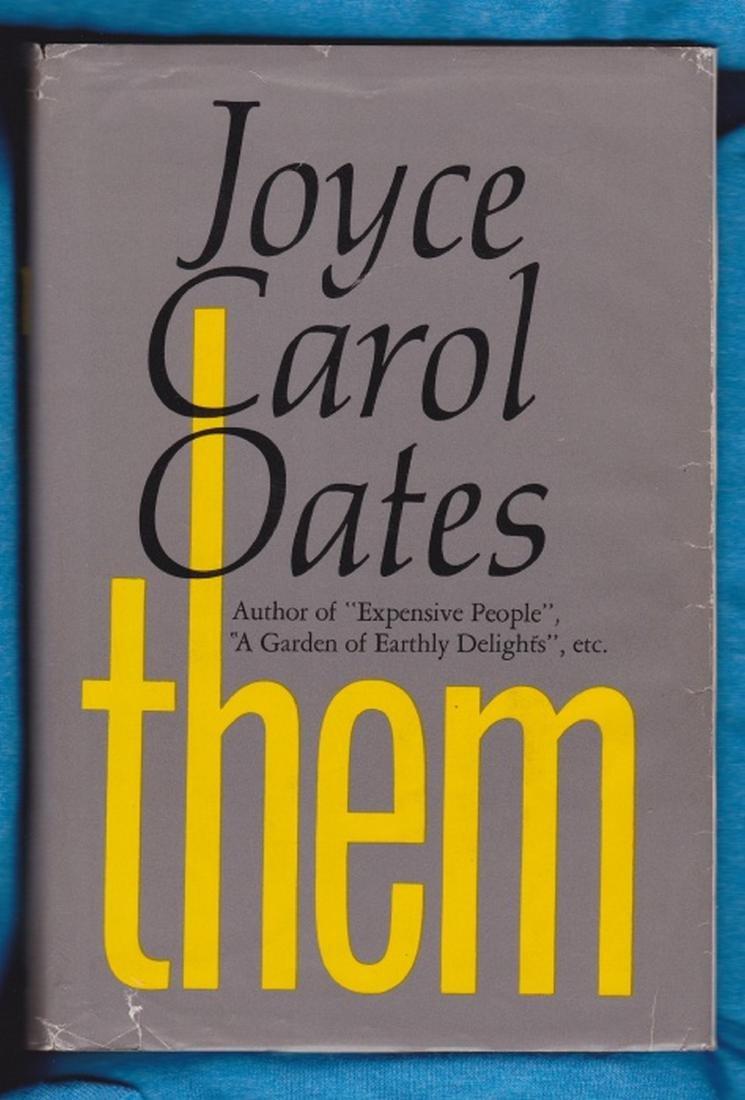 Them – SIGNED. Oates, Joyce Carol