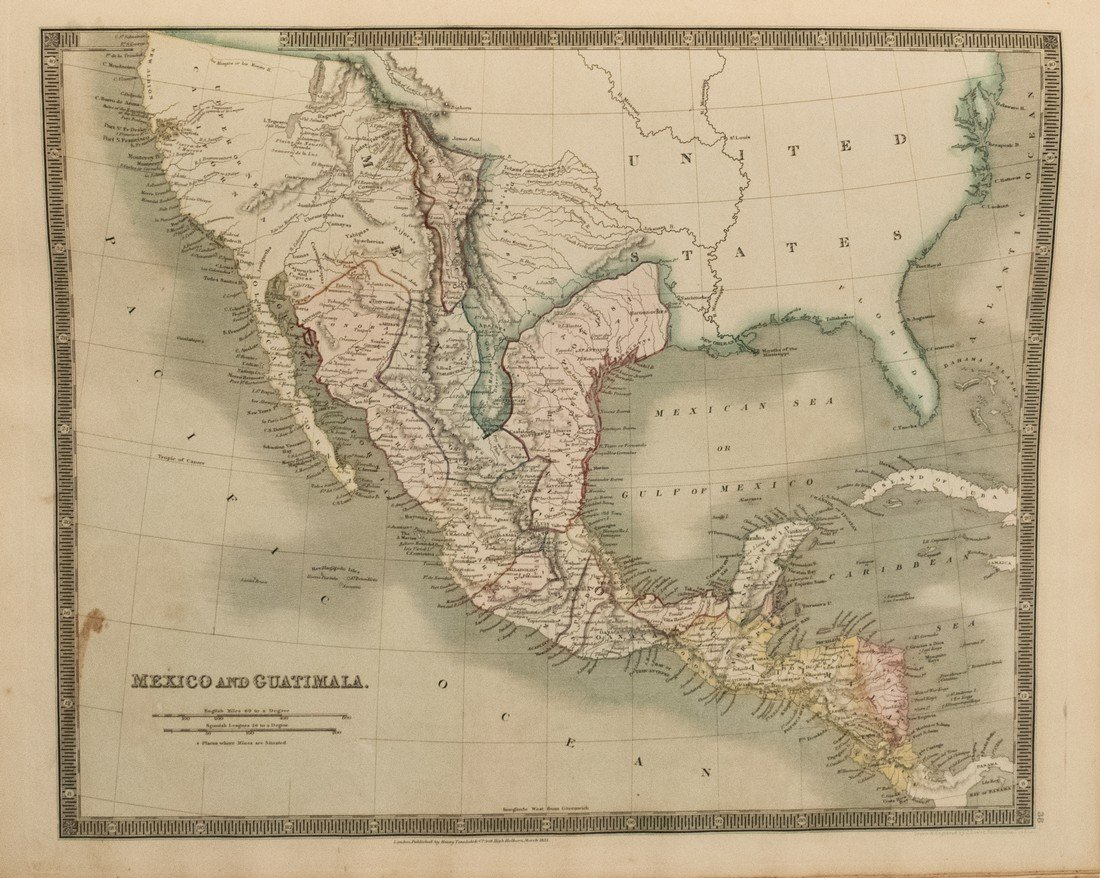 1831 Teesdale World Atlas -- A New General Atlas of the - 4