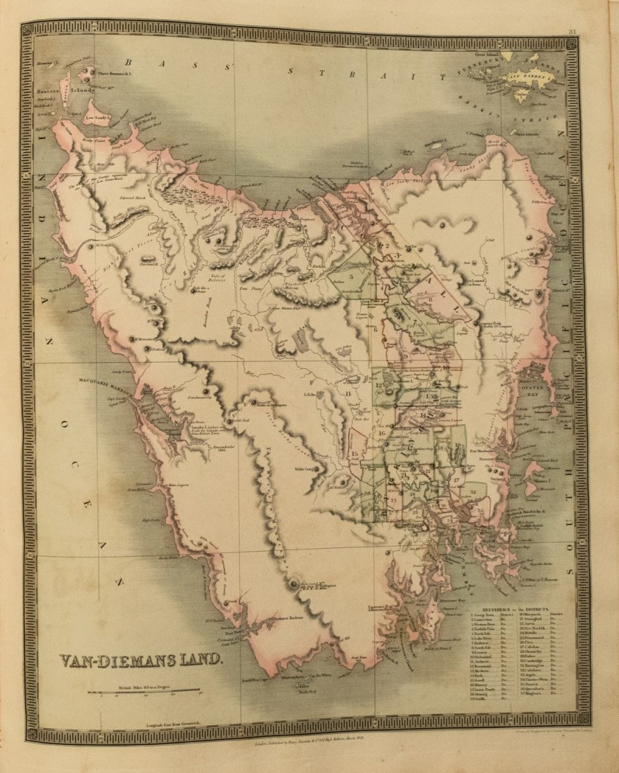 1831 Teesdale World Atlas -- A New General Atlas of the - 5