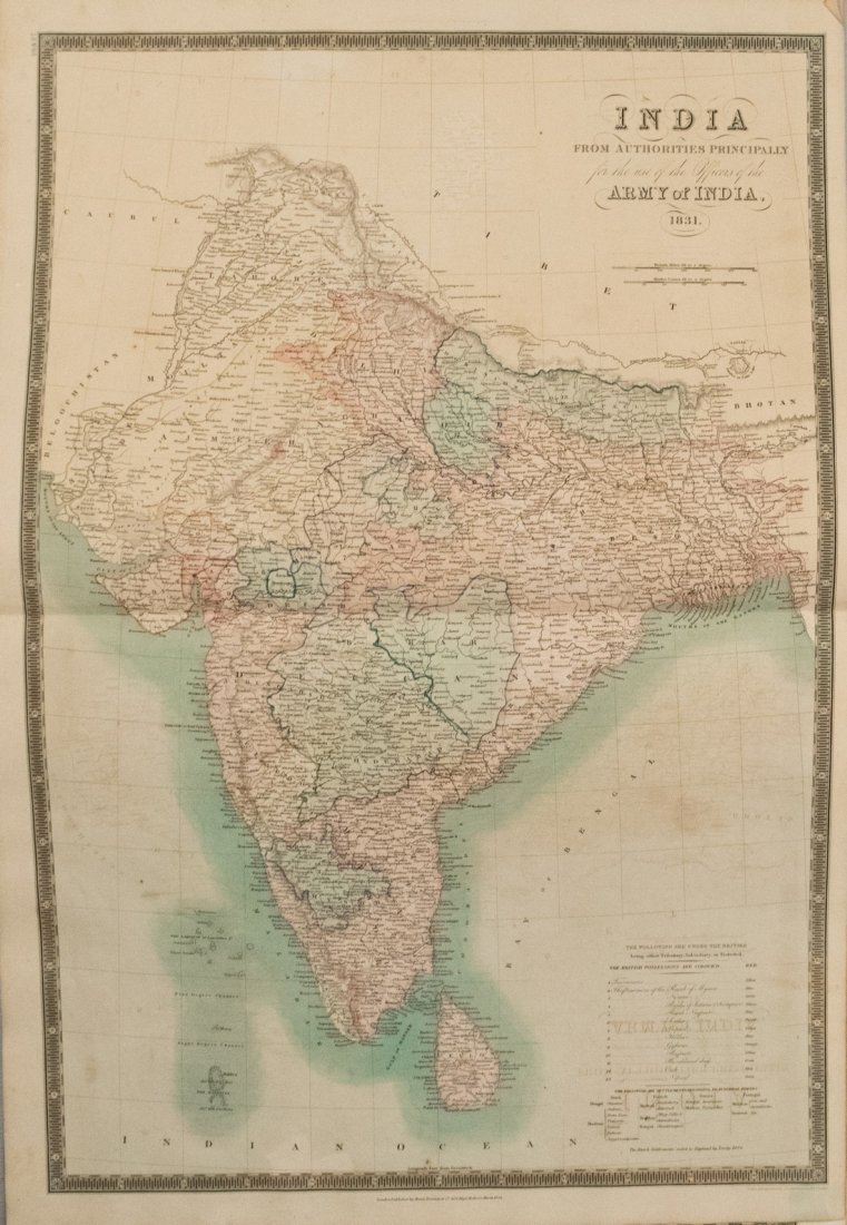 1831 Teesdale World Atlas -- A New General Atlas of the - 6
