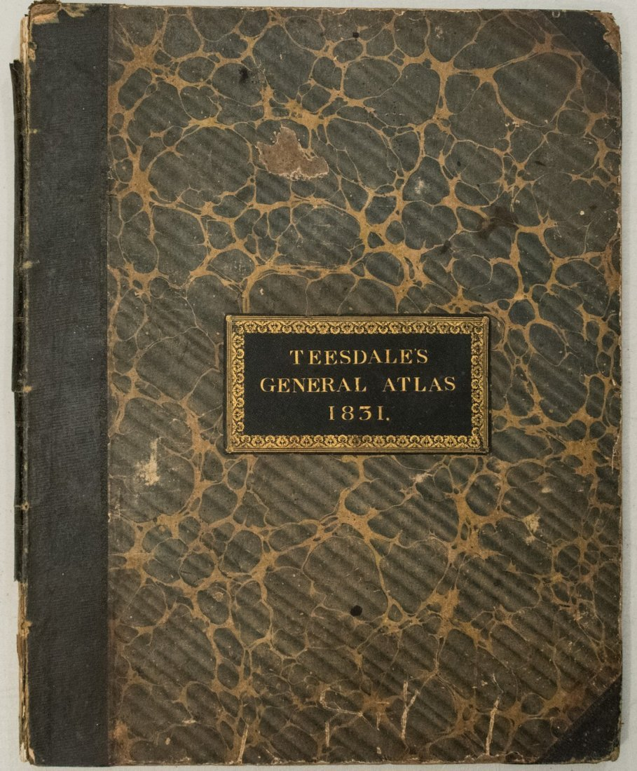 1831 Teesdale World Atlas -- A New General Atlas of the - 7