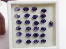 Natural Oval Purple Amethyst Wholesale Lot