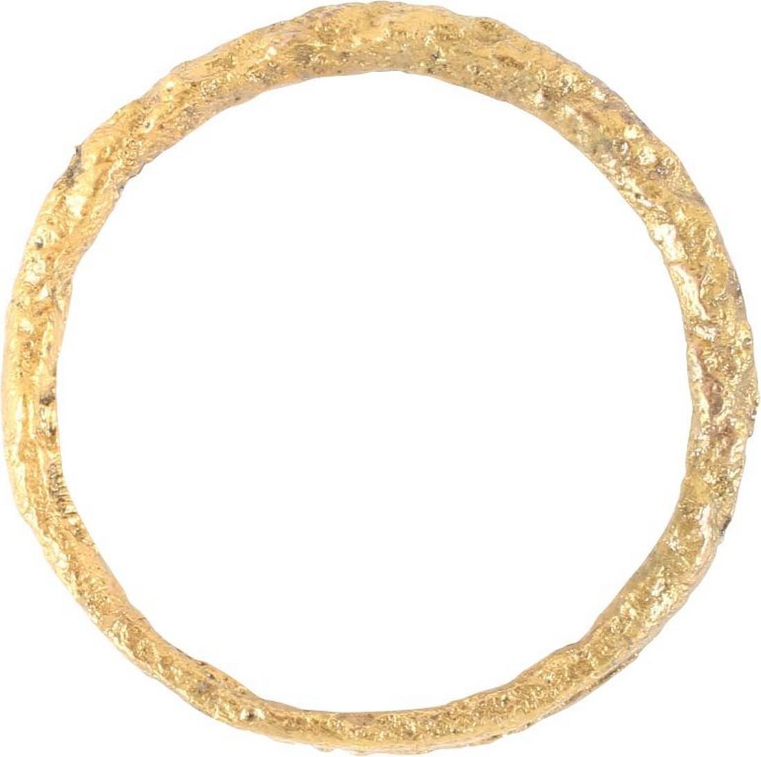 VIKING TWISTED FORM RING C.866-1067 AD, Sz 9 1/4 - 2