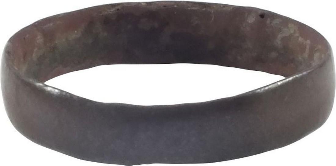 VIKING WOMAN'S WEDDING RING, 9th-10th CENTURY AD, Sz 6