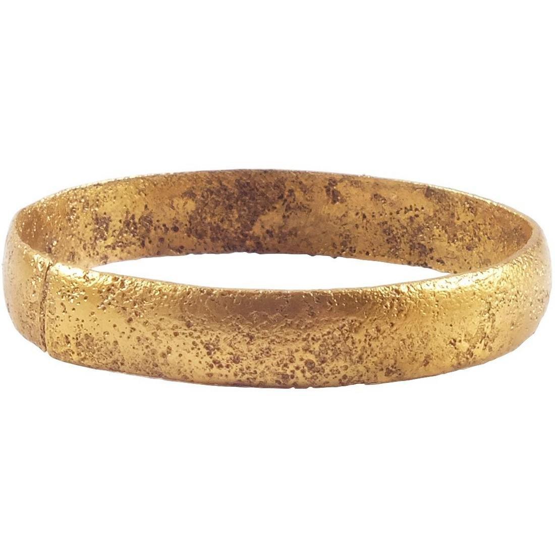 VIKING MAN'S WEDDING RING 10th-11th CENTURY Sz 9 3/4