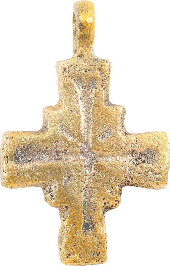 MEDIEVAL EUROPEAN PILGRIM'S CROSS C.700-1100 AD