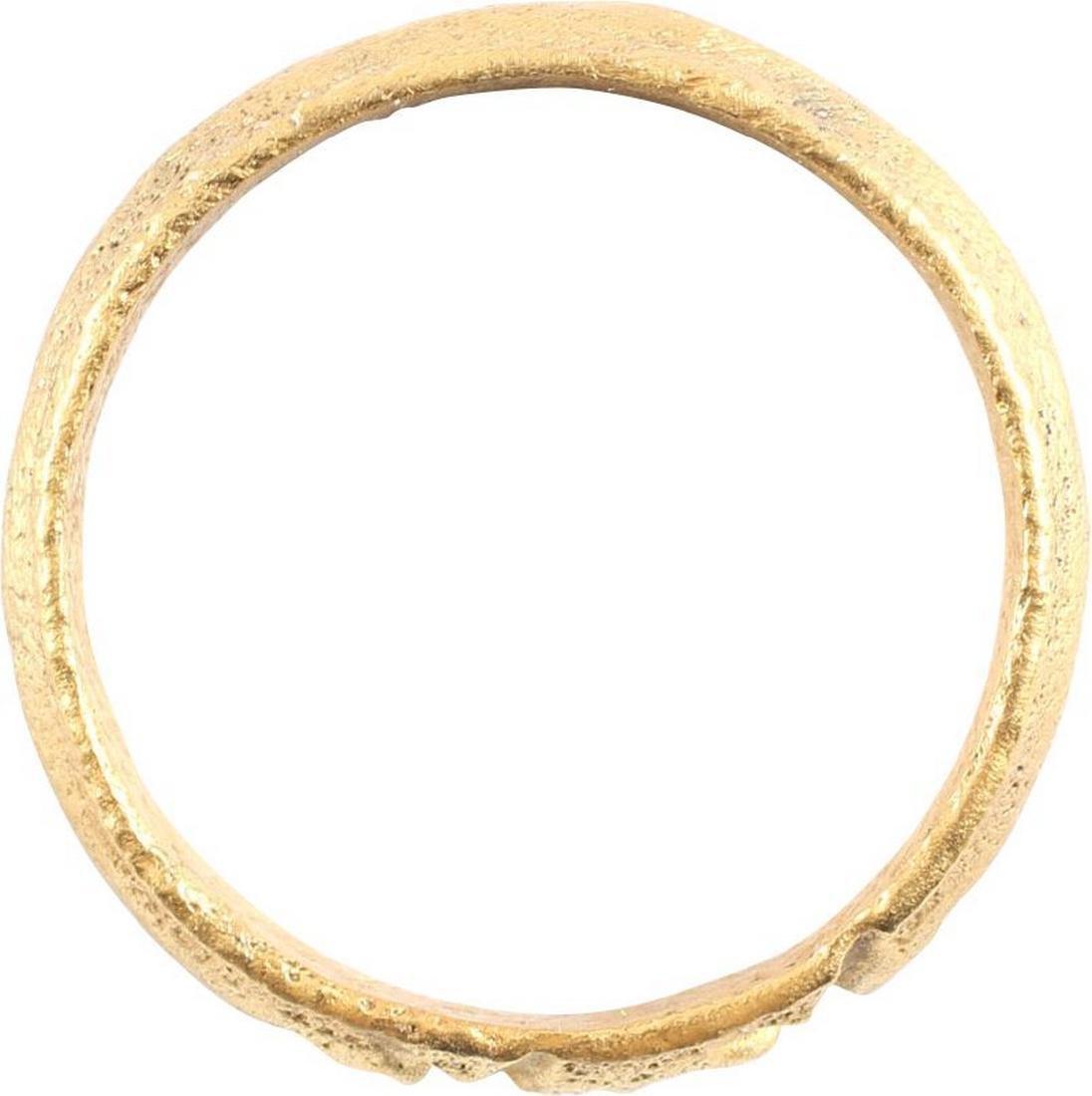 VIKING WARRIOR'S RING C.866-1067 AD, Sz 10 - 2