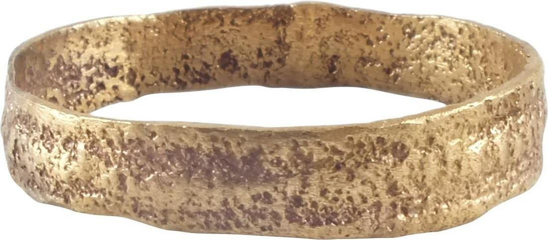 VIKING MAN'S WEDDING RING, 866-1067 AD, Sz 11