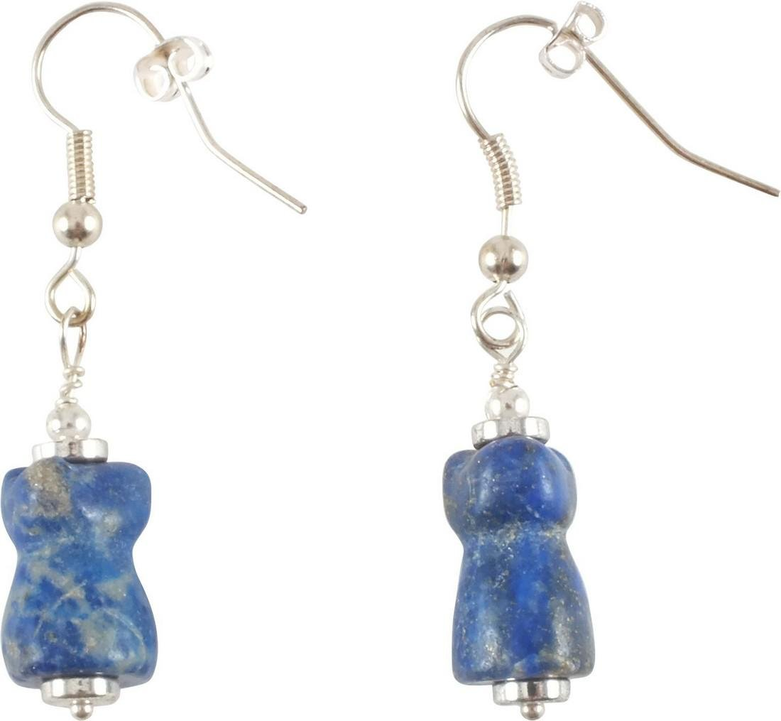 ANCIENT EGYPTIAN AMULET EARRINGS - 2