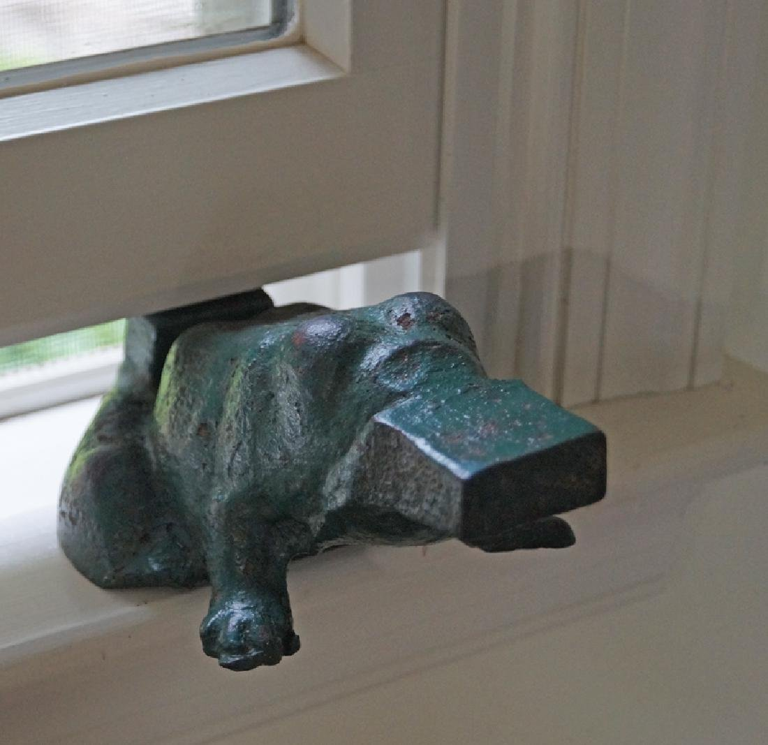 Frog Cast Iron Window Sash Stop / Doorstop - 5