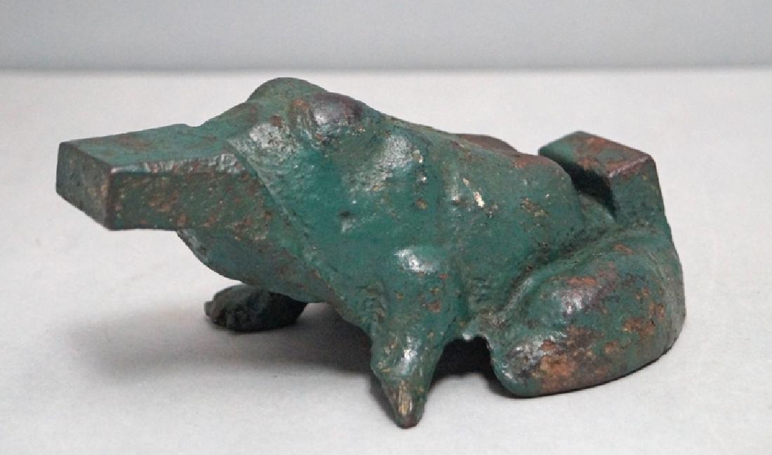 Frog Cast Iron Window Sash Stop / Doorstop - 8