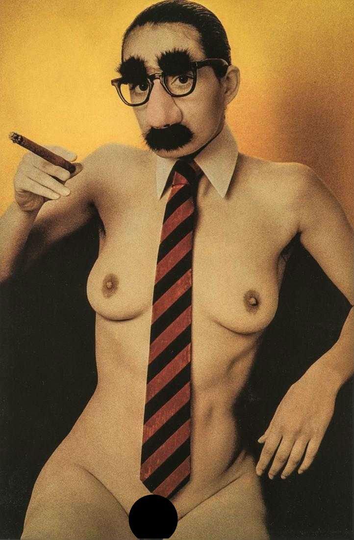 DAVID CHAMBERLAIN - Groucho Nude