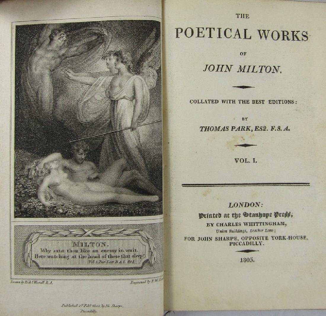 MILTON'S POETICAL WORKS - 2