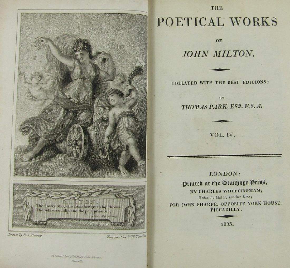 MILTON'S POETICAL WORKS - 4