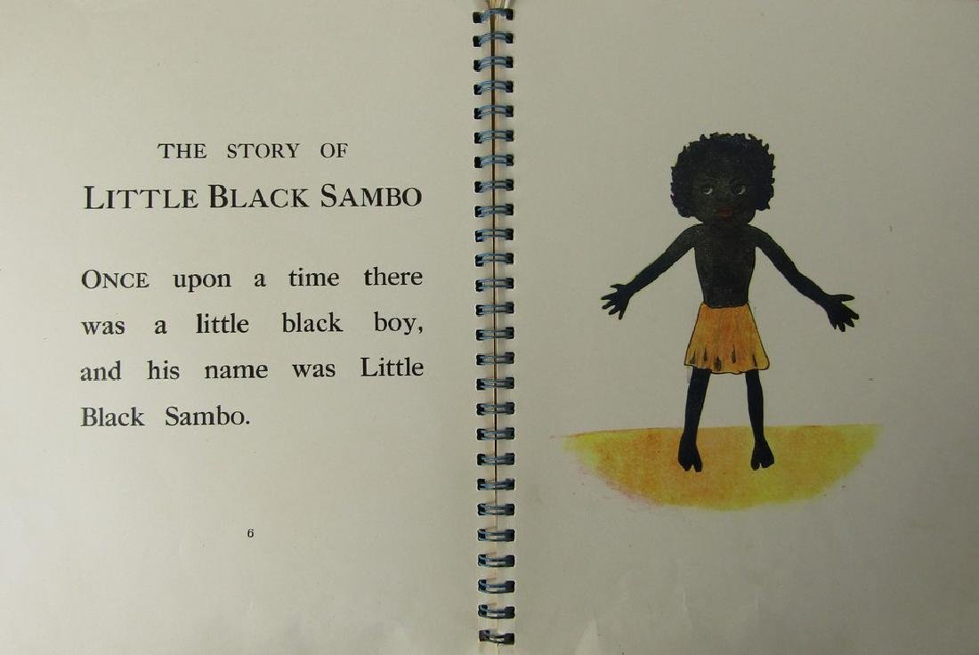 FIVE CHILDRENS BOOKS. THE STORY OF LITTLE BLACK SAMBO - 10