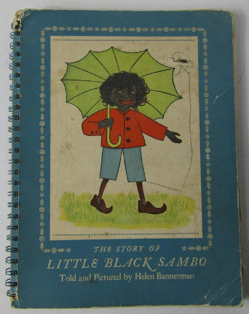 FIVE CHILDRENS BOOKS. THE STORY OF LITTLE BLACK SAMBO