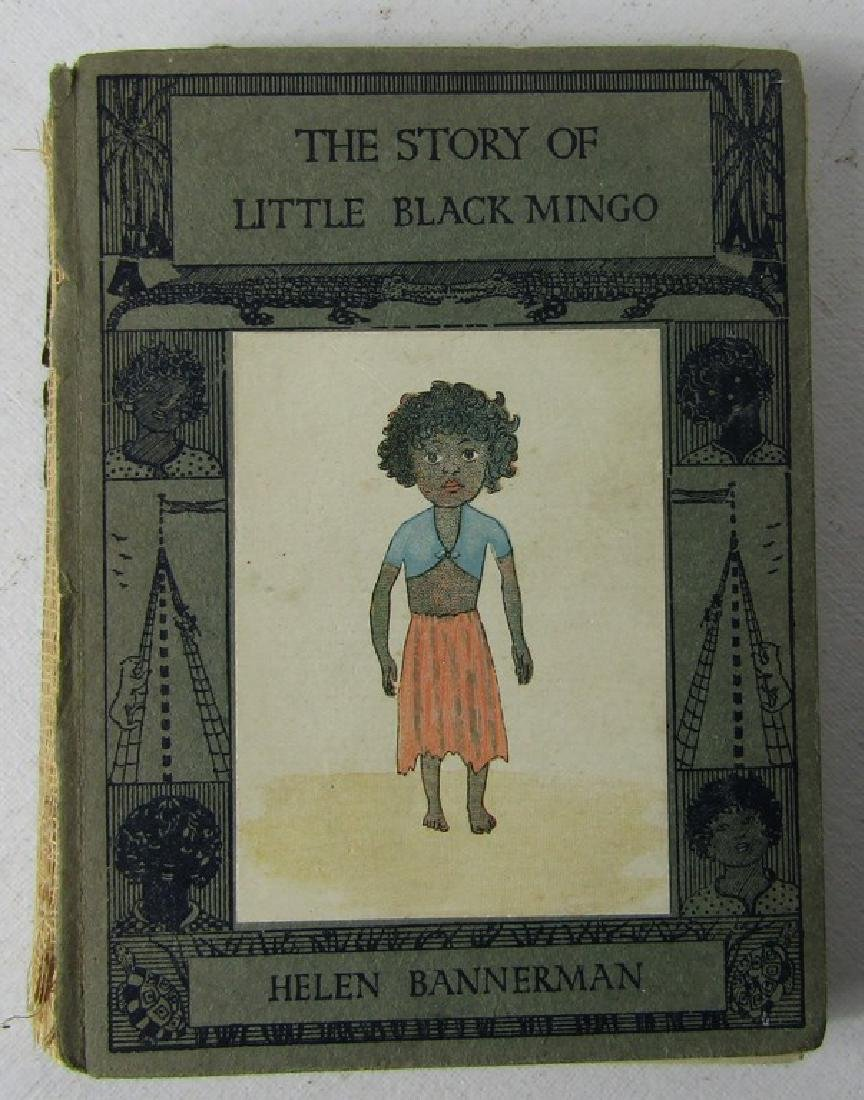 FIVE CHILDRENS BOOKS. THE STORY OF LITTLE BLACK SAMBO - 3