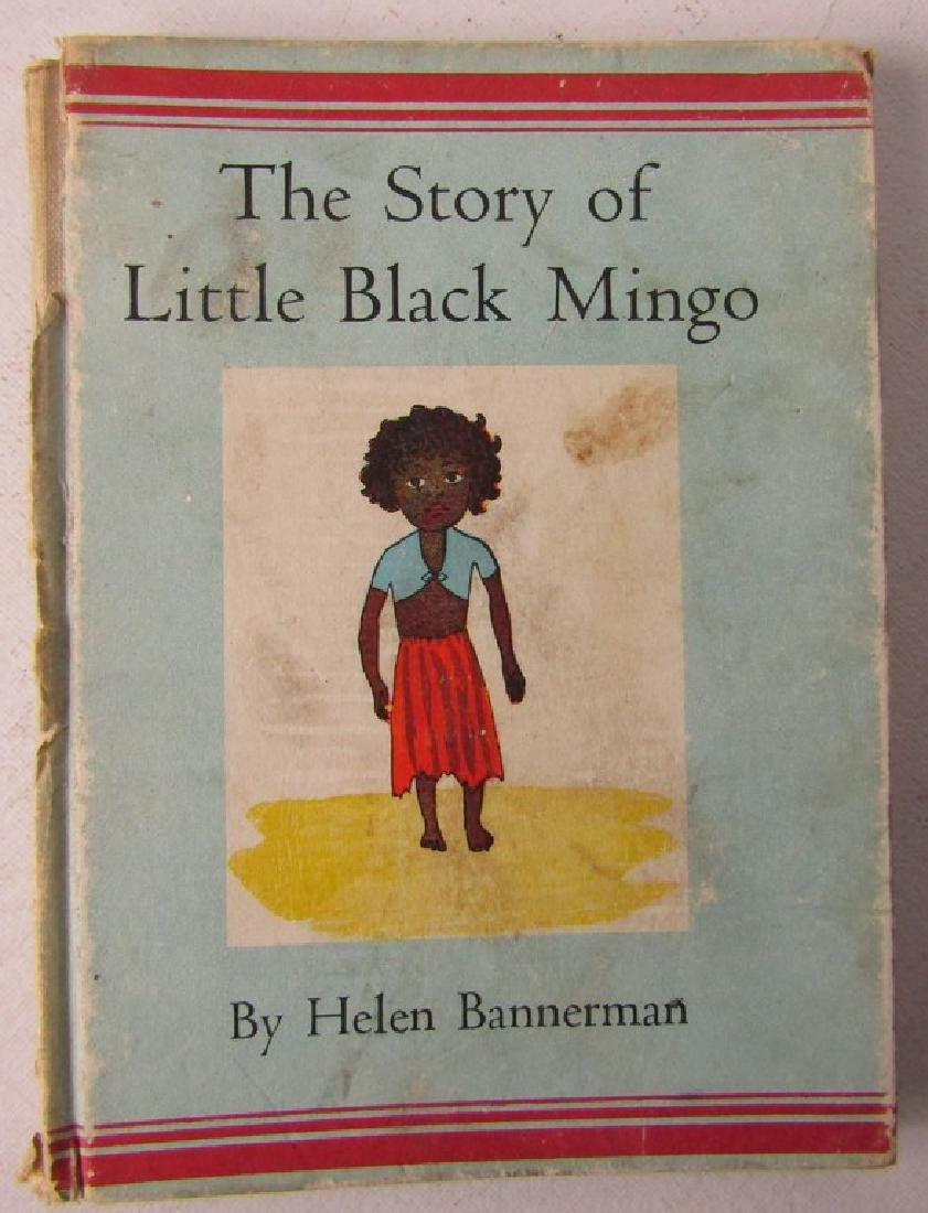 FIVE CHILDRENS BOOKS. THE STORY OF LITTLE BLACK SAMBO - 5