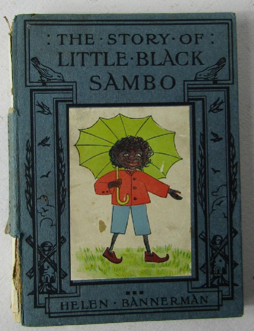 FIVE CHILDRENS BOOKS. THE STORY OF LITTLE BLACK SAMBO - 7
