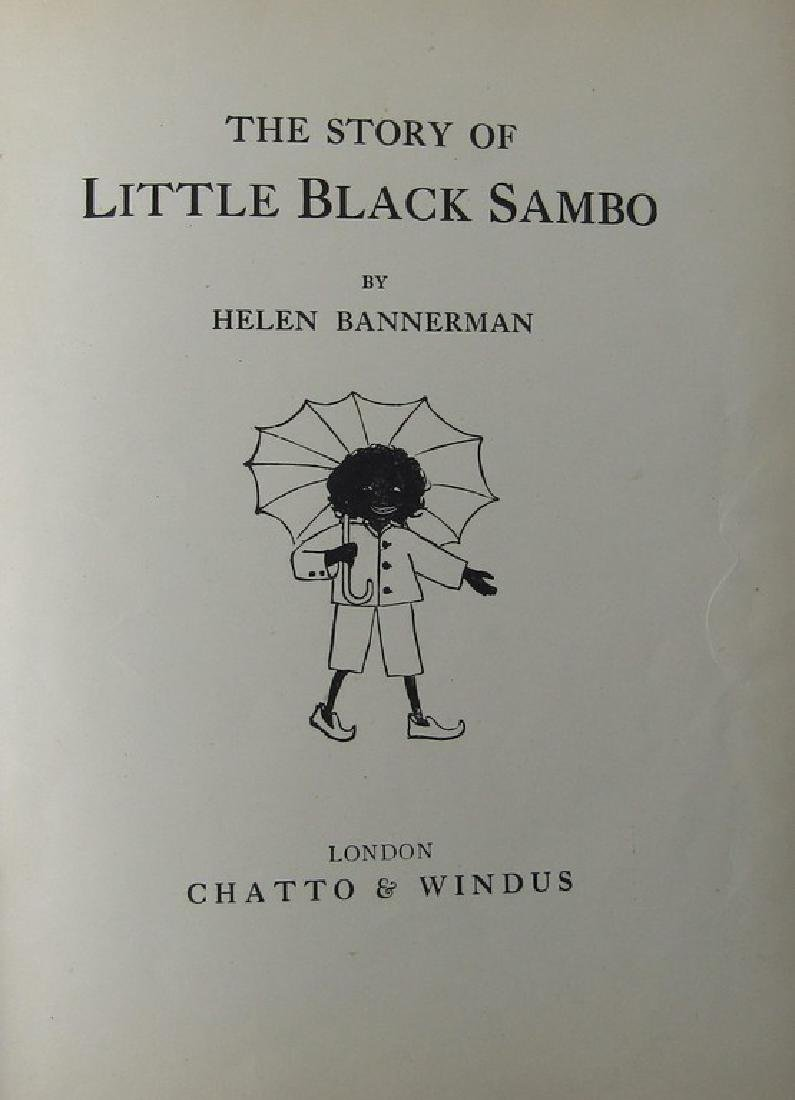 FIVE CHILDRENS BOOKS. THE STORY OF LITTLE BLACK SAMBO - 8