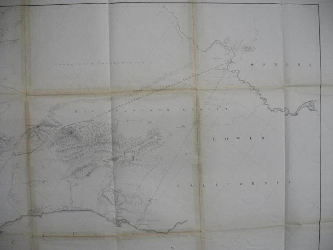 General Map of the Explorations & Surveys in California - 5