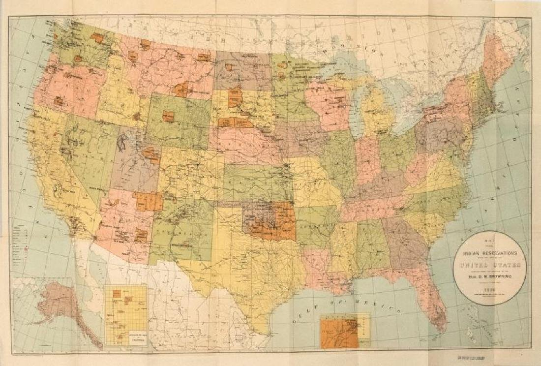 1896 Map Of Indian Reservations In The Us Map Dec 18 2018 - Map-of-reservations-in-us
