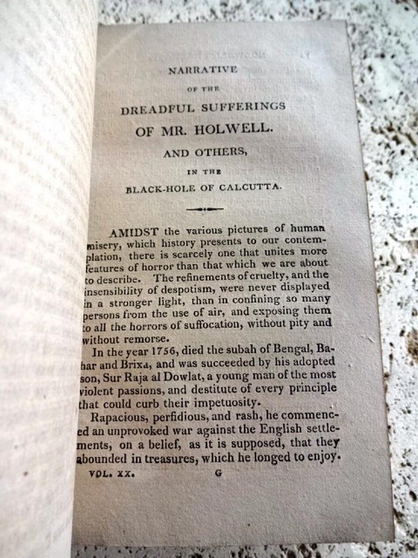 1817 Travels Volume Black Hole Calcutta - 3