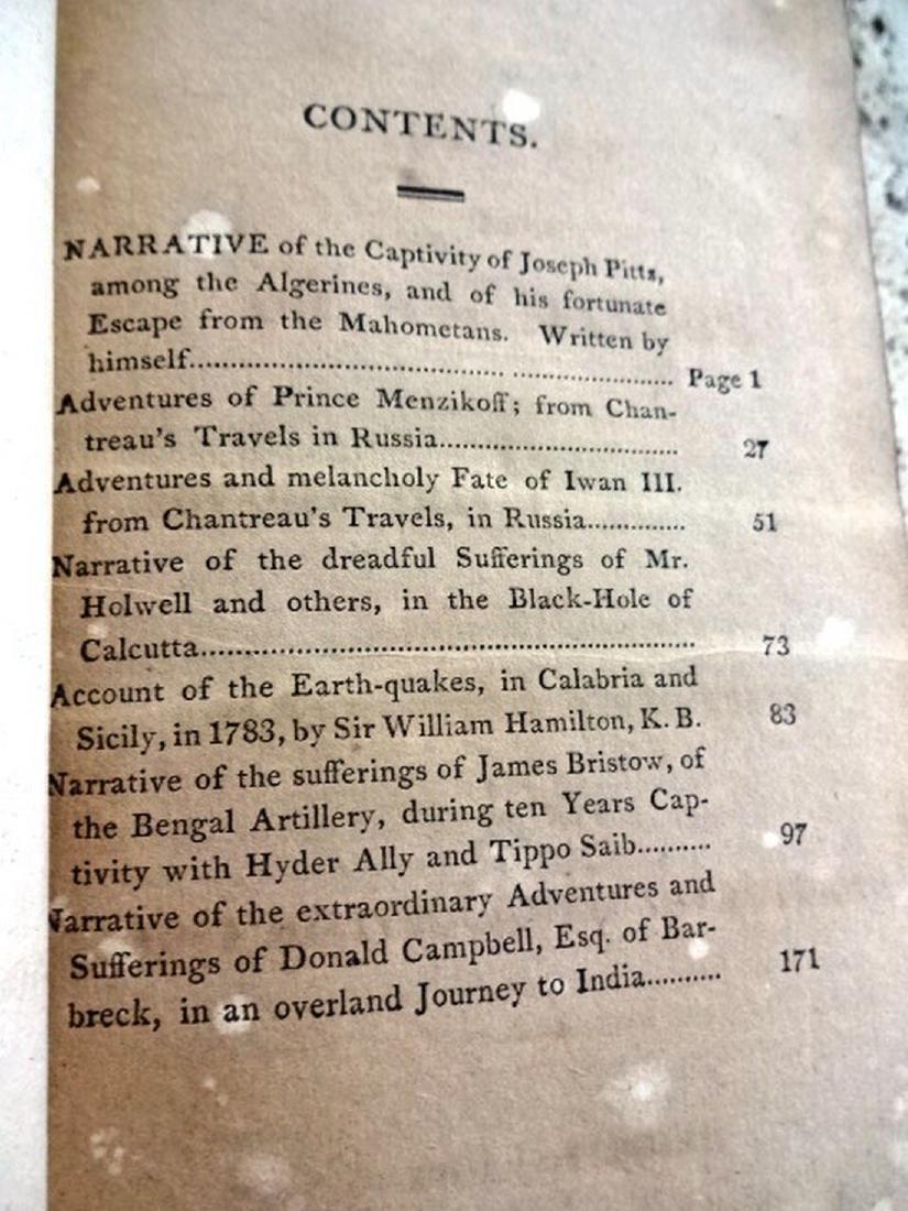1817 Travels Volume Black Hole Calcutta - 4