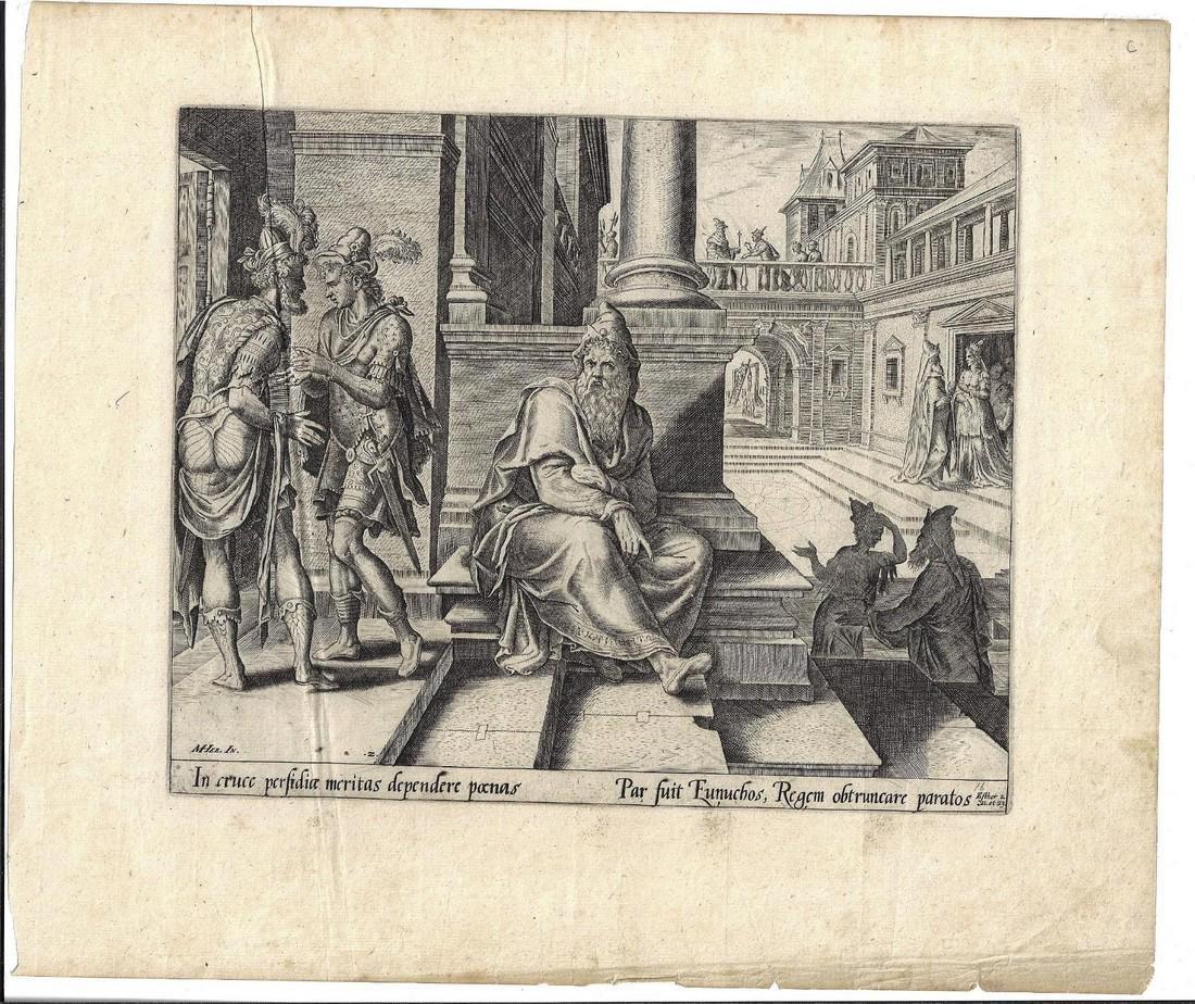 1580 Engraving Philip Galle after Heemskerck