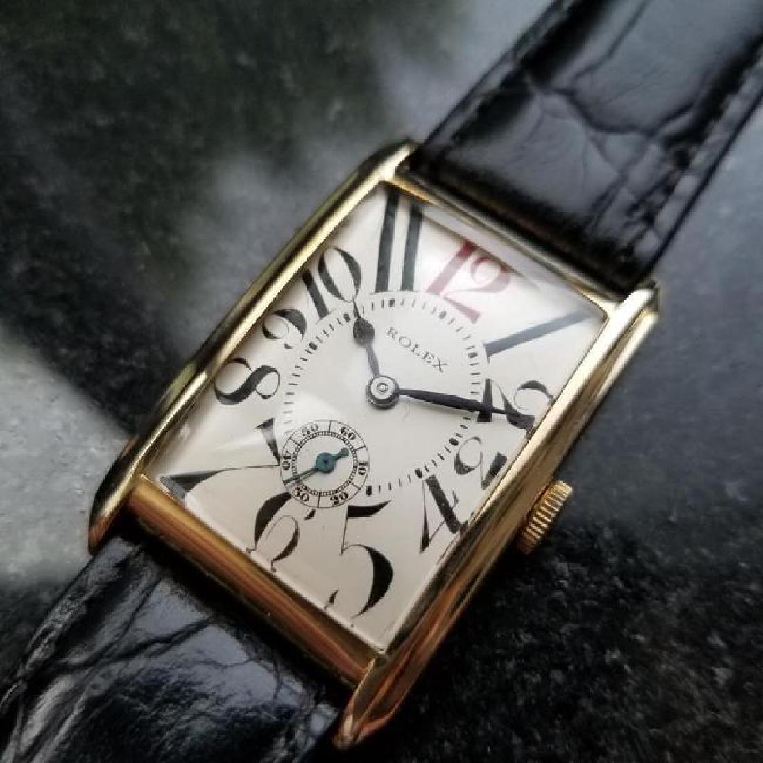a9e03a32542 ROLEX Rare Men's 9ct Gold Art Deco Dress Watch, c.1920s - Dec 19, 2018 |  Jasper52 in NY