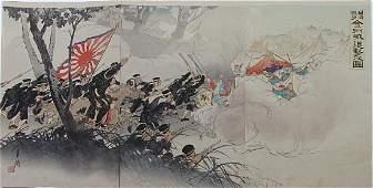 Ogata GEKKO 18591920 Woodblock Nisshin sens