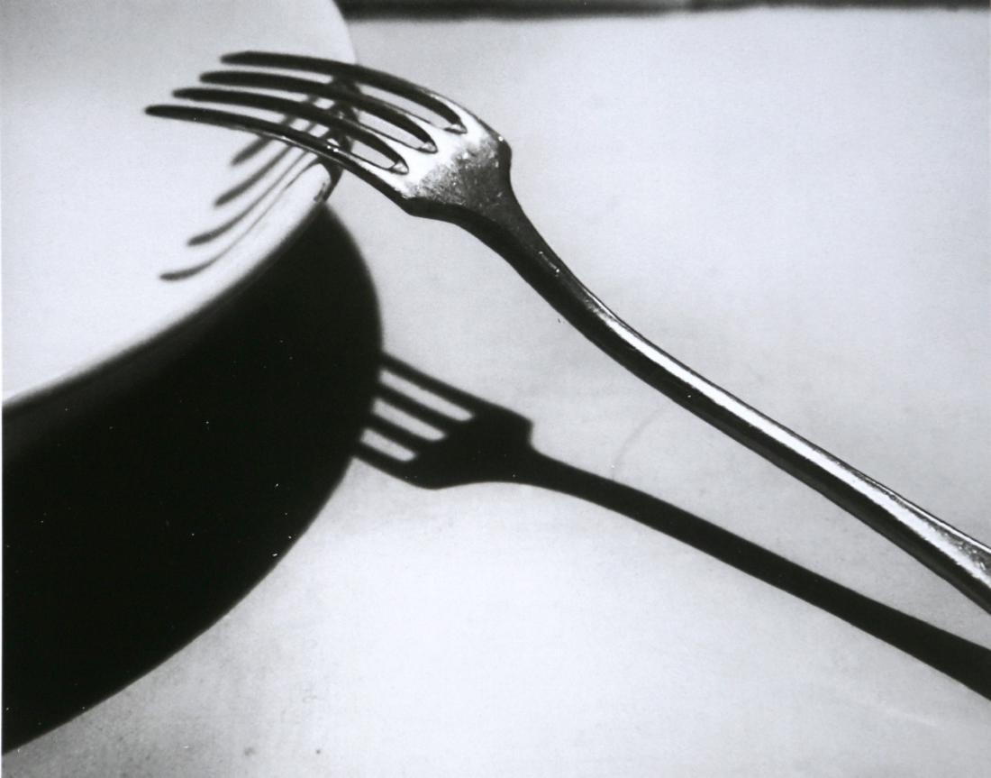 ANDRE' KERTESZ - The Fork, Paris, 1928