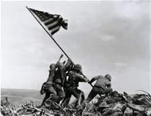 JOE ROSENTHAL - Raising the Flag on Iwo Jima, 1945