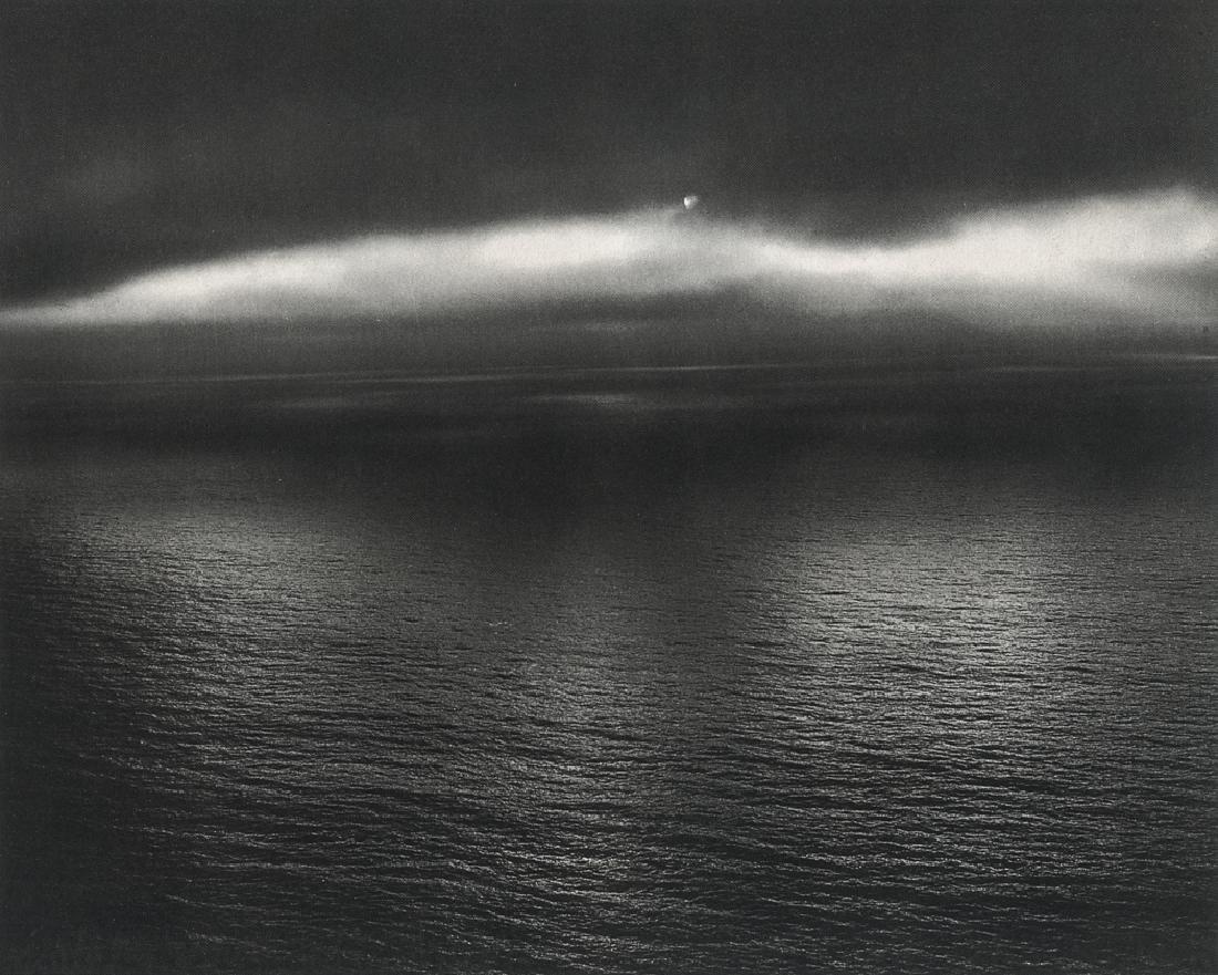 MINOR WHITE - Sun Over the Pacific, Devils Slide 1947