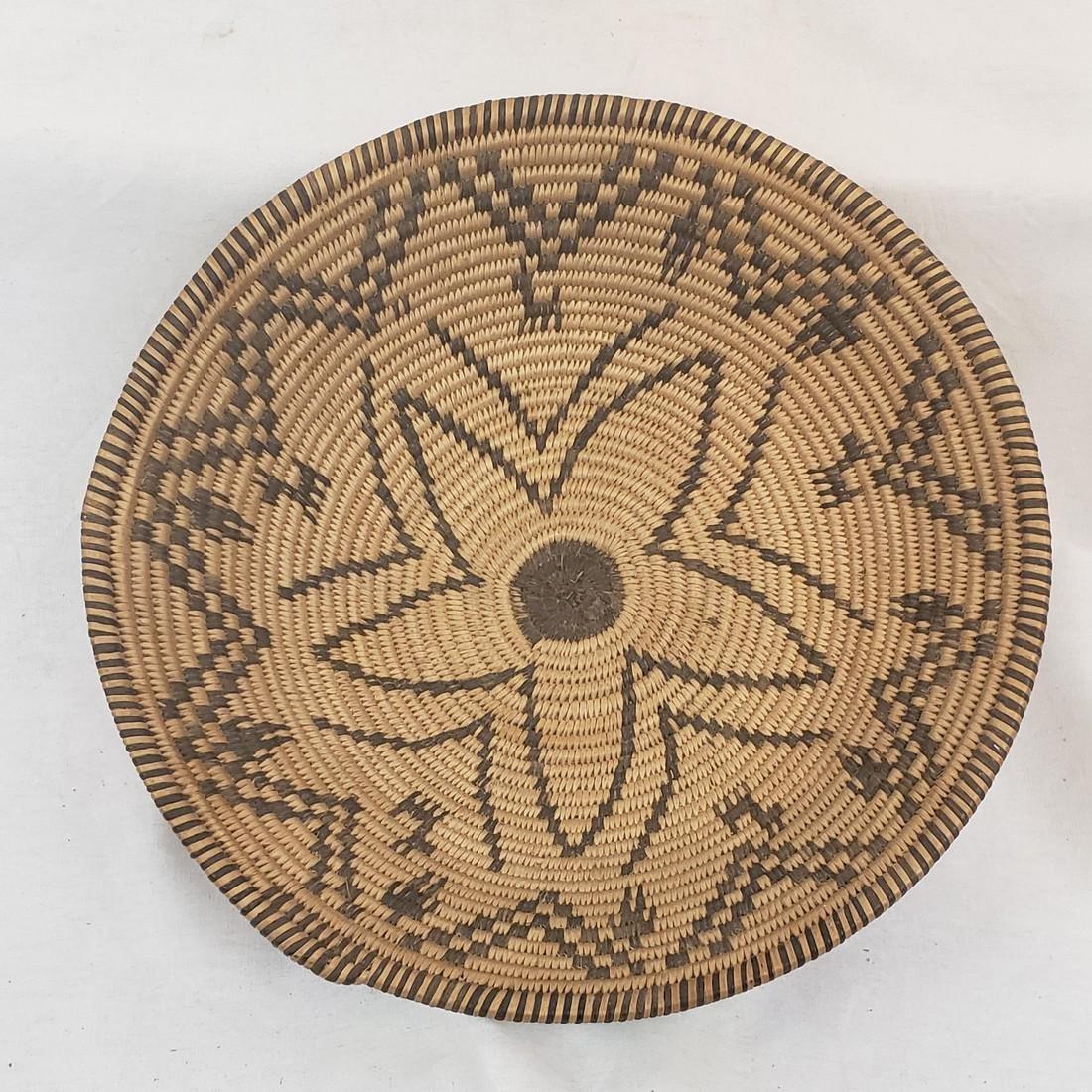 Fine Apache figural basket ca 1915-1930