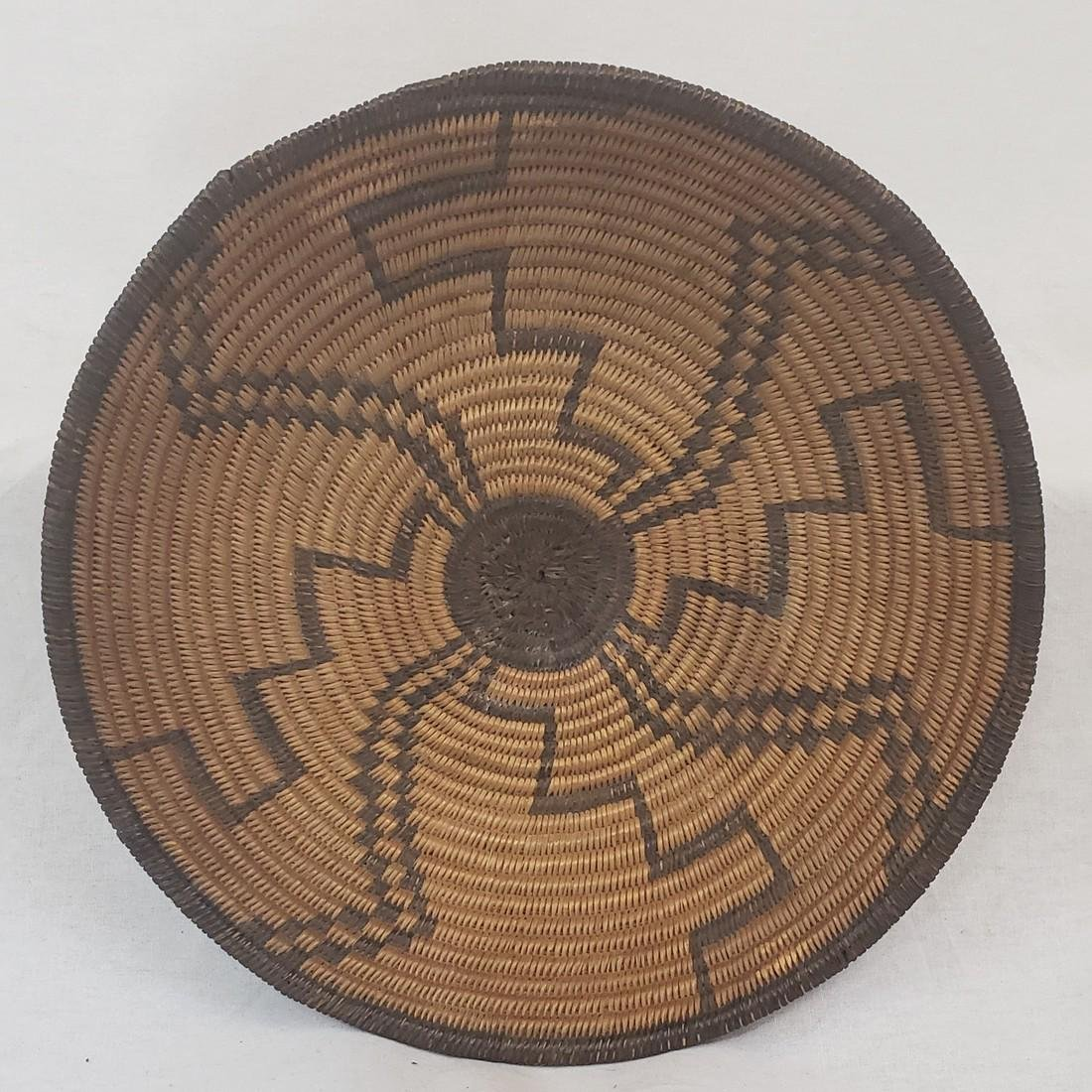 Fine Apache geometric basket ca 1900-1920
