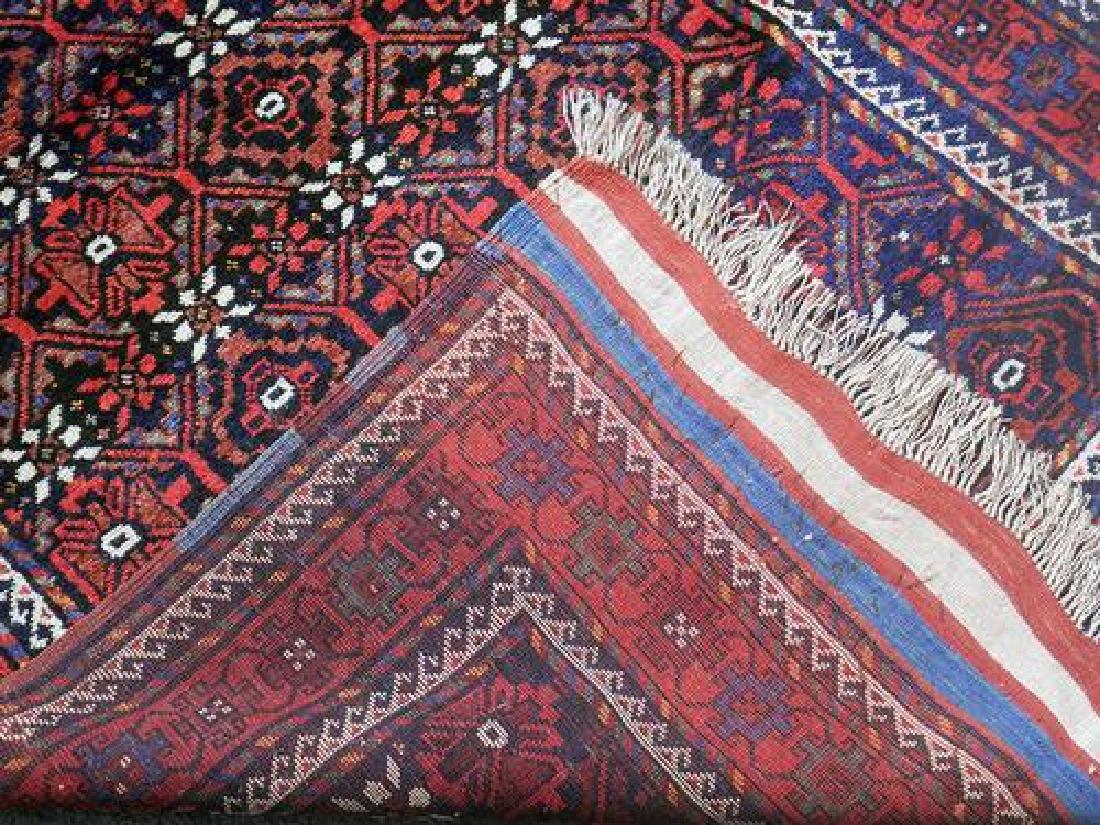 Hand Knotted Persian Kurdish Rug 3.11x7.0 - 5