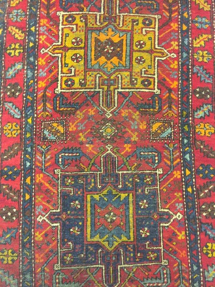 Semi -Antique Malayer Persian Rug 10.3x3.1