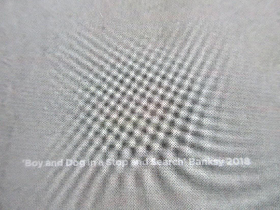 Original rare Banksy Vandalism poster - 2