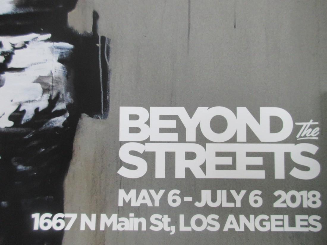 Original rare Banksy Vandalism poster - 4