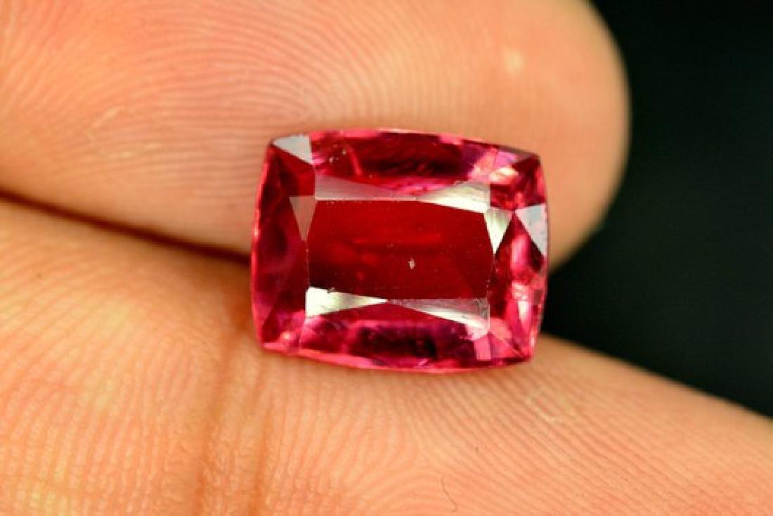 3.85 cts Natural Rubelite Tourmaline Gemstone from