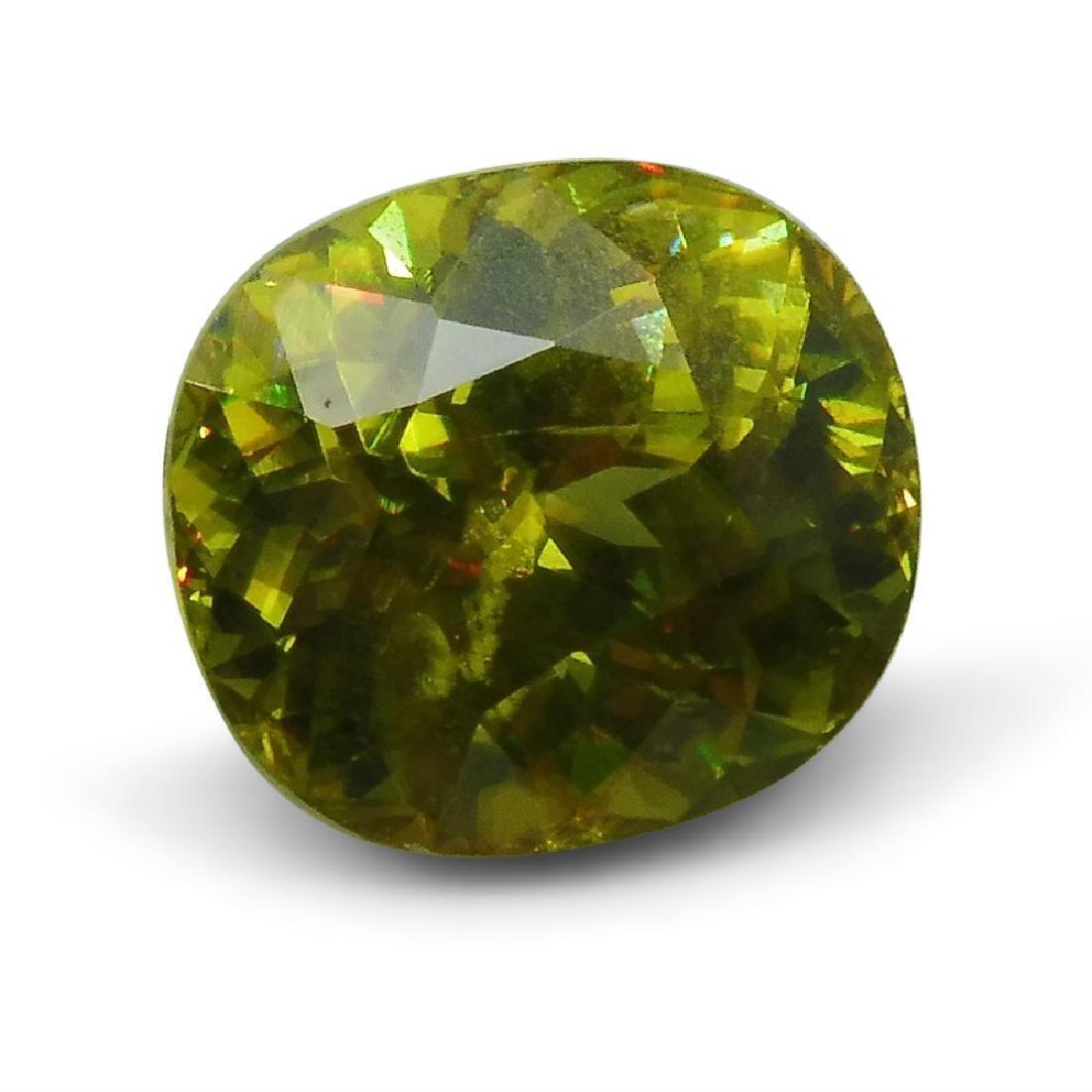 2.94 ct GIA Certified Sphene (Titanite)
