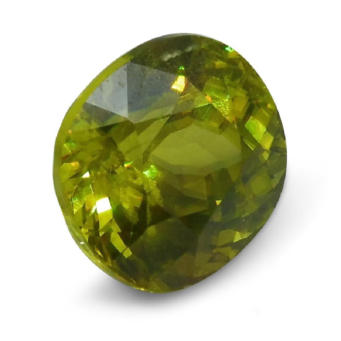 2.94 ct GIA Certified Sphene (Titanite) - 3