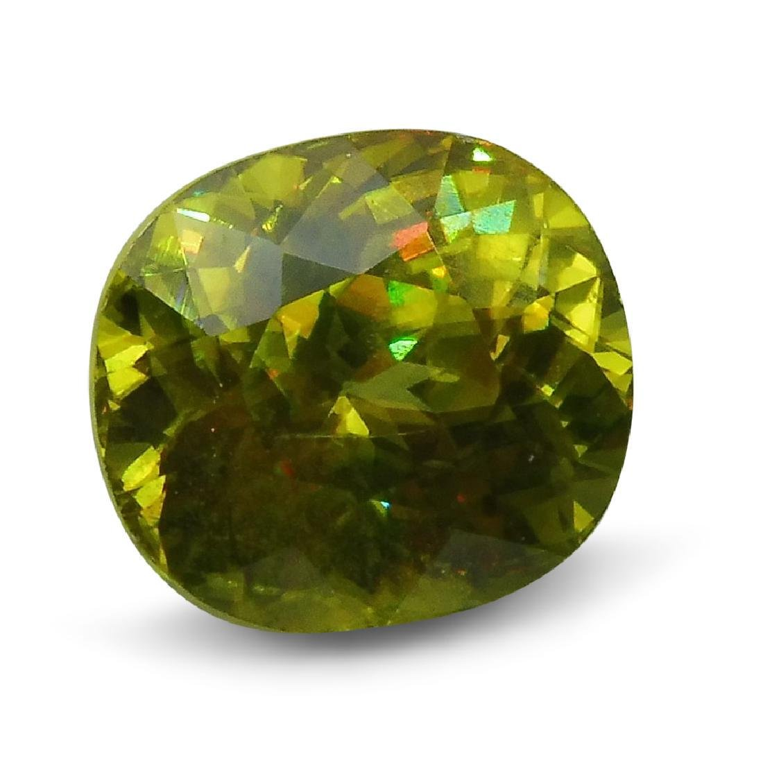 2.94 ct GIA Certified Sphene (Titanite) - 4