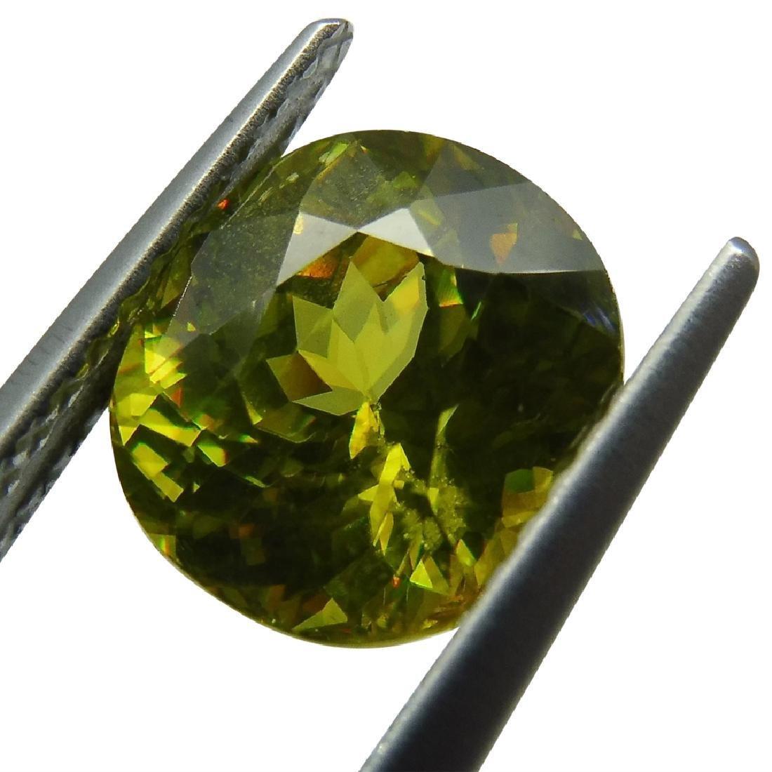 2.94 ct GIA Certified Sphene (Titanite) - 6