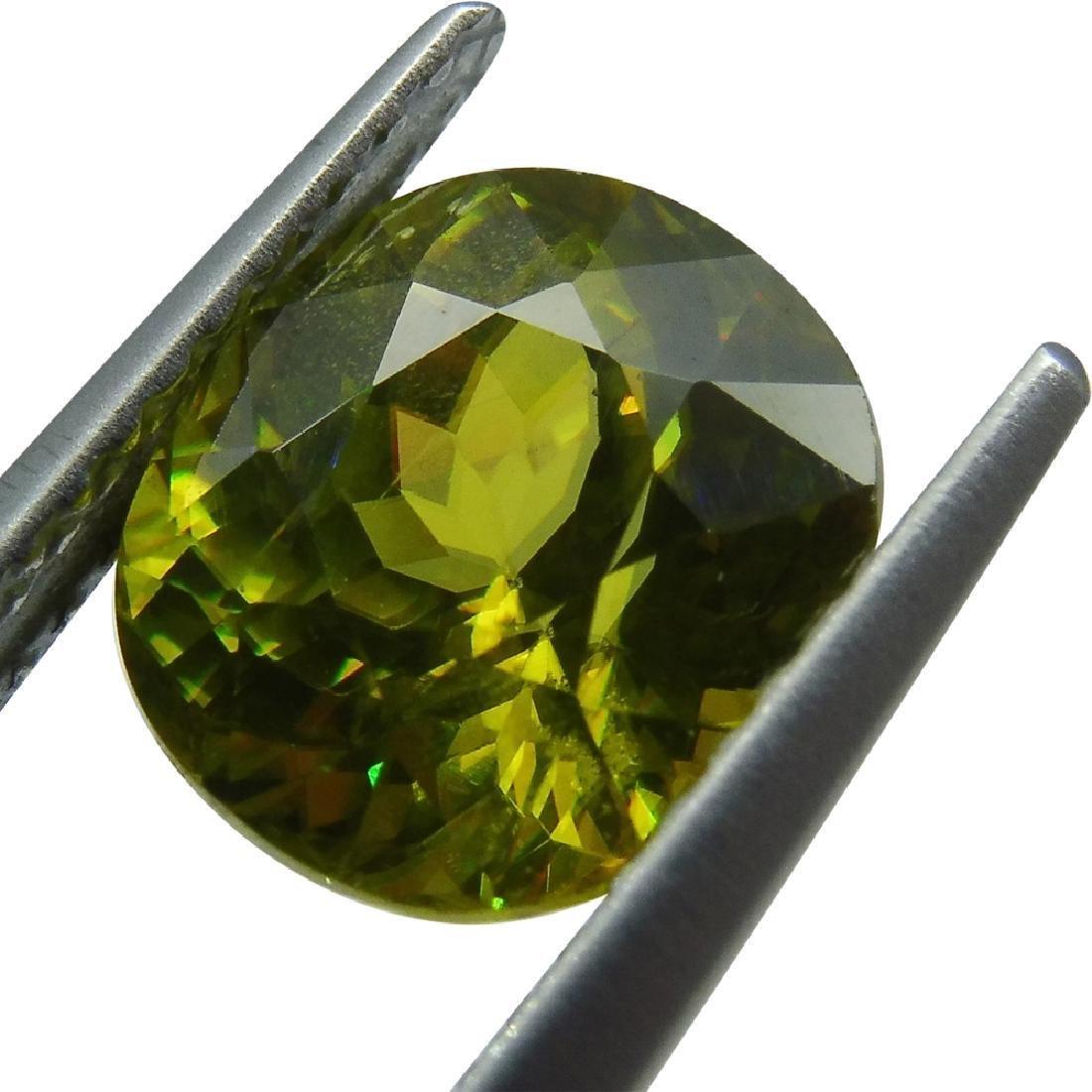 2.94 ct GIA Certified Sphene (Titanite) - 7