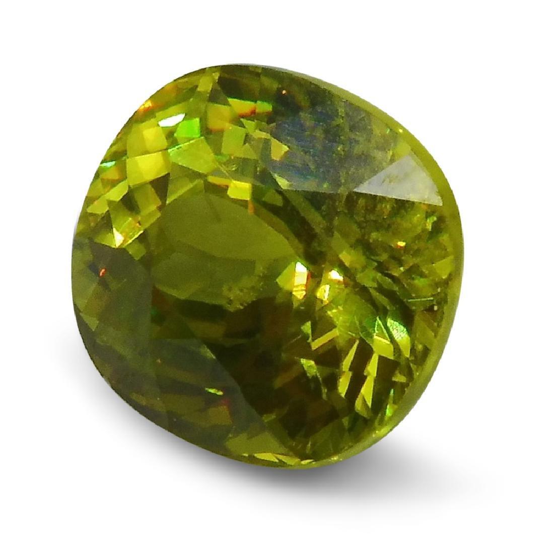 2.94 ct GIA Certified Sphene (Titanite) - 8