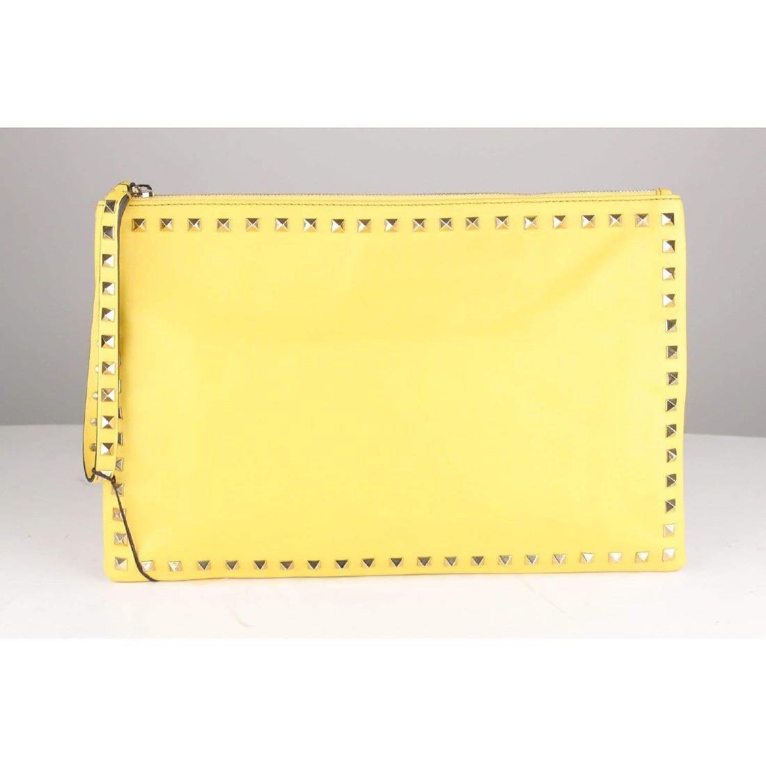 Valentino Rockstud Large Clutch Wrist Bag - 4