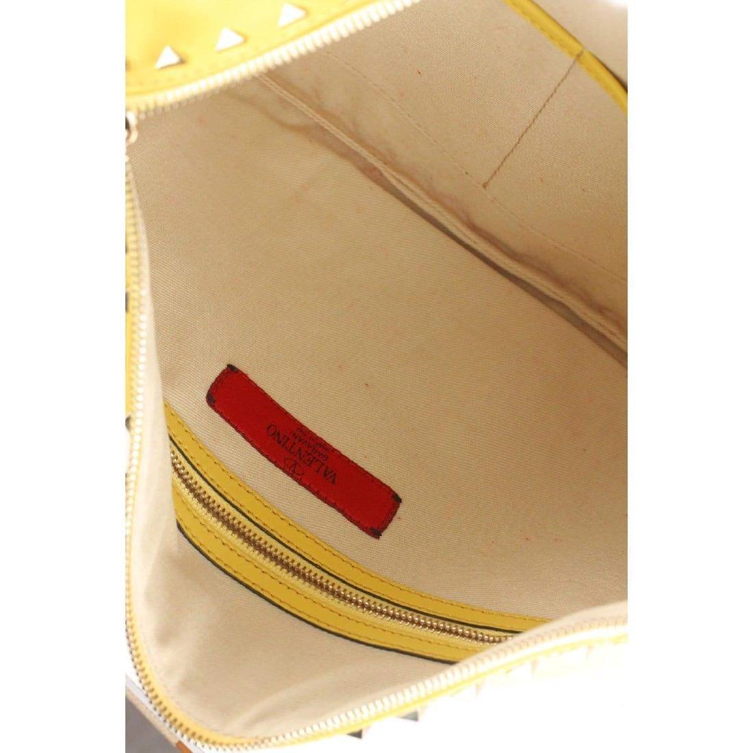 Valentino Rockstud Large Clutch Wrist Bag - 7